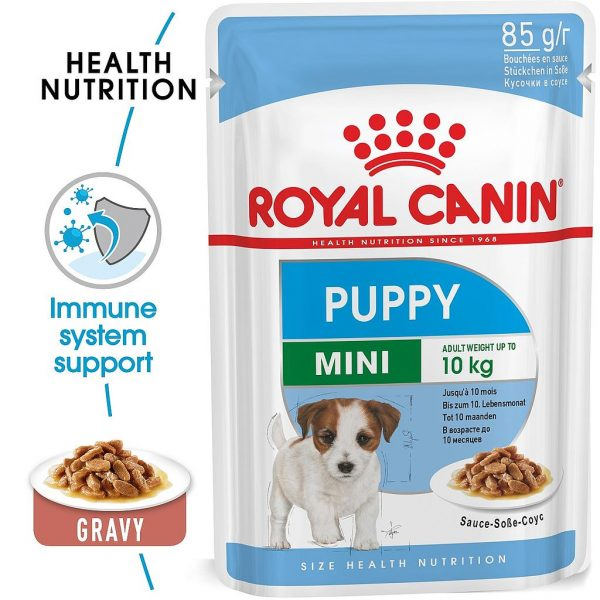 Royal Canin Mini Puppy Pouch Gravy 85g