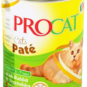 PROCAT PATE WITH RABBIT & VEGETABLES 400G