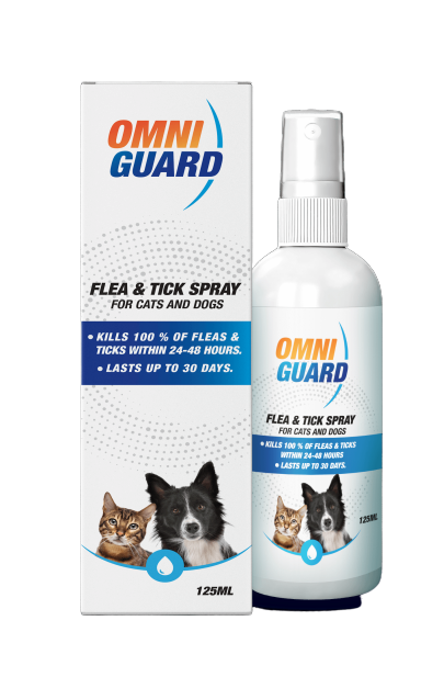 OMNIGUARD FLEA & TICK SPRAY 125ML