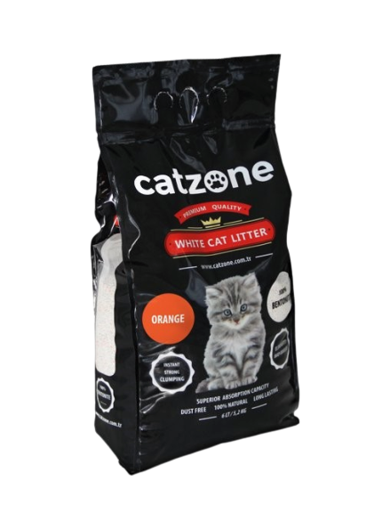CATZONE CLUMPING ORANGE SCENTED 5 KG