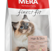 MERA finest fit Hair & Skin Adult Cat Dry Food 4 Kg