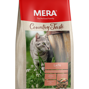 MERA Country Taste Salmon Adult Cat Dry Food 400 g