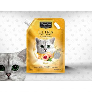 Royal Cat Plus Ultra Clumping Cat- Peach - litter 5 Litre
