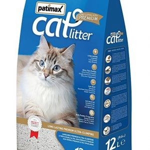 Patimax Cat Litter Clumping -Orange 9.6 Kg