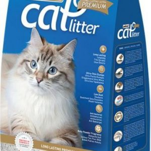 Patimax Cat Litter Clumping- Soap - 4.8 Kg
