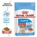 Royal Canin Medium Puppy Pouch Gravy 140g