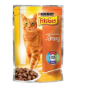 FRISKIES CHICKEN IN GRAVY POUCH 100G
