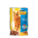 FRISKIES SALMON IN GRAVY POUCH 100G