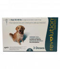 1 dose X REVOLUTION SPOT ON FOR DOGS 40-85LBS
