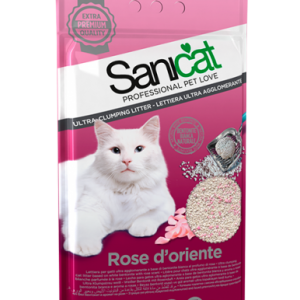 SANICAT ROSE D'ORIENTE 5L CLUMPING CAT LITTER