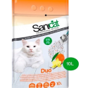 SANICAT CLUMPING DUO CAT LITTER 10L