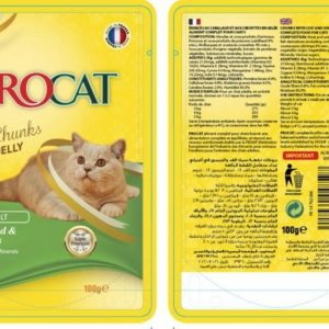 Procat Soft Chunks in Jelly- cod & Shrimps 100g