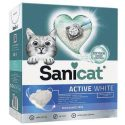 Sanicat Active White Ultra Clumping Fragrance Free Cat Litter 10 L