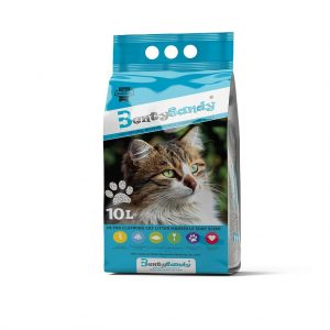 Benty Sandy Clumping Cat Litter-Marseille Soap- 10 L