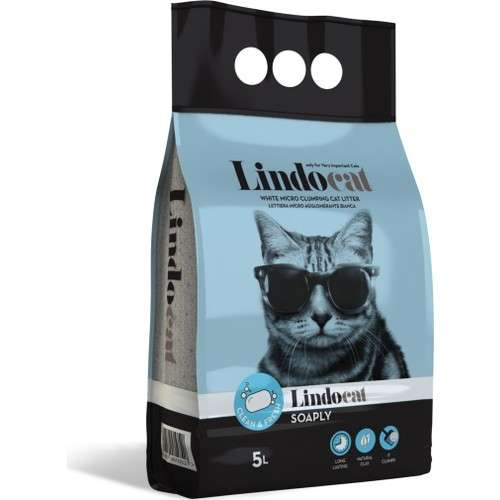LindoCat Clumping Cat - Clean Fresh -Litter 5 L