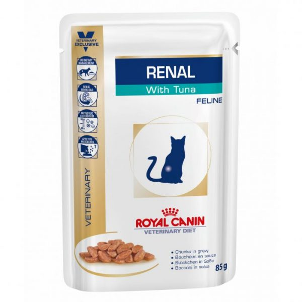 Royal Canin Veterinary Diet Feline Renal with Tuna 85gm