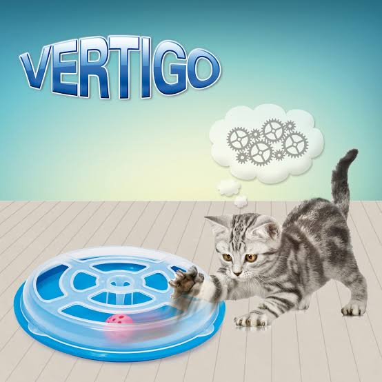 G-PLAST Vertigo Cat Toy With anti-slip
