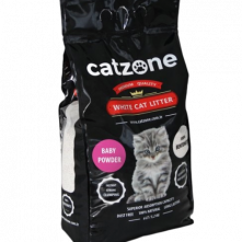 CATZONE CLUMPING BABYPOWDER SCENTED 5 KG