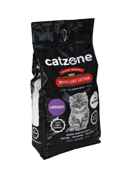 CATZONE CLUMPING LAVENDER SCENTED 5KG