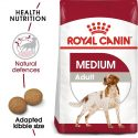 Royal Canin Medium Adult Dry Food 4 Kg