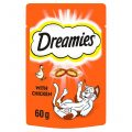 Dreamies cat snack with chicken flavor 60g